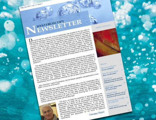 Hysteroscopy Newsletter September – October 2018